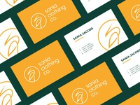 Sania Clothing Co. Logo & Business card