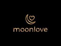 MoonLove Cafe Logo Design