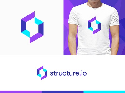Structure.io Logo Design