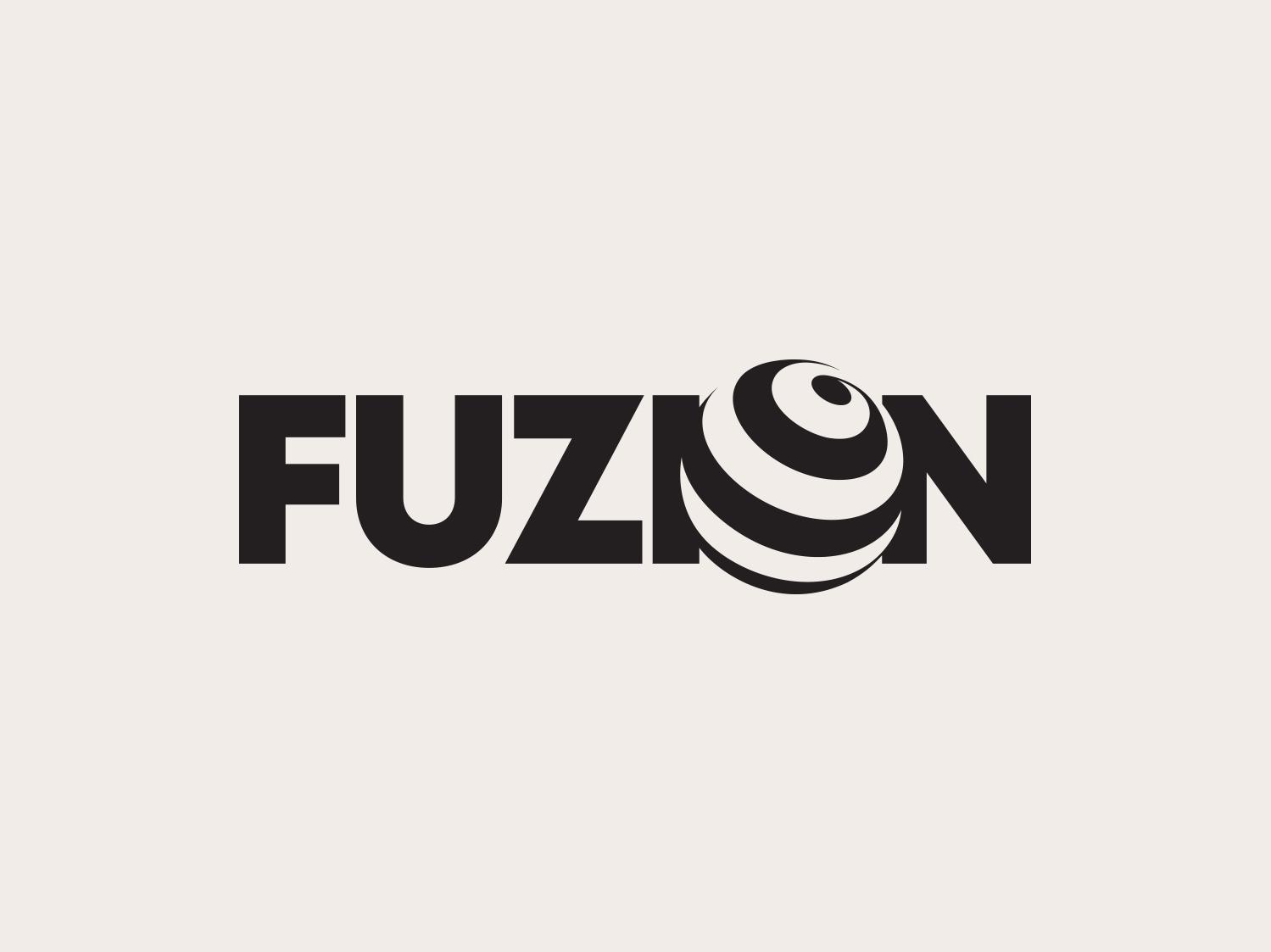 Fuzion Logo Design by Aditya | Logo Designer on Dribbble