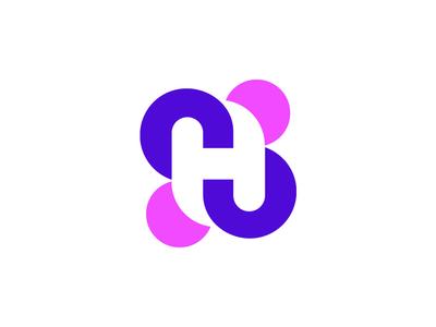 H Lettermark  Logo.