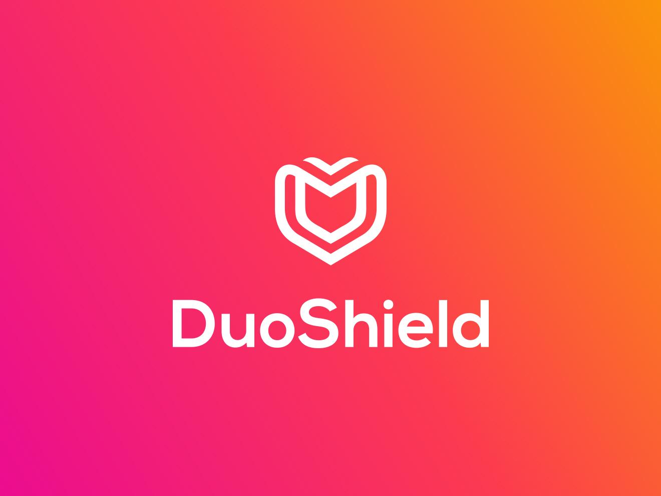 Duoshield Logo Design ui design ux visual identity icon modern creative payment finance business ideas logotype logos logo animation rebrand brand brand identity branding