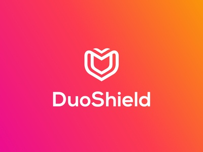 Duoshield Logo Design