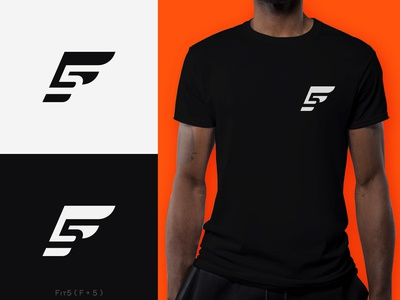 F5 (Fit5) - Fitness Brand Logo