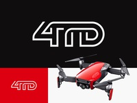 4TD - Drone Logo Design