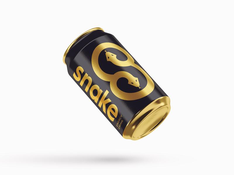 Snake - Energy Drink Logo