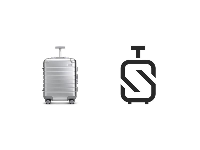 T + S + Travel bag branding typography clever symbol inspiration traveling bag logodesign 2020 identity newyork top modern wordmark logobranding brands travel s logodesigner monogram logomark brand logo icon logos