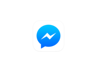Messenger messenger facebook facebook messenger app android ios app icon
