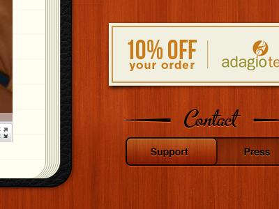 Tea App Website Updates refinement details website