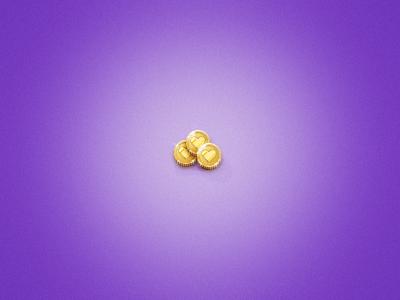 Golden Flirt Coins gold coins coin wedontcareaboutthe money sparkly