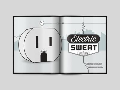 Magazine Spread 1 of 3 print spread magazine layout design grid typography cover