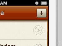 iOS App Menubar