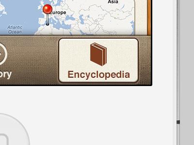 iOS App Tab Bar white iphone screen view map pin map pin button tabbar ios tab bar