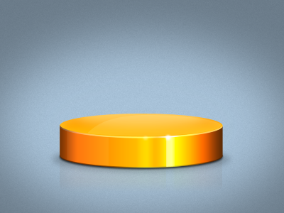 3D Piechart in Photoshop 3d piechart photoshop shape cylinder lighting gloss effects feedback omgtags