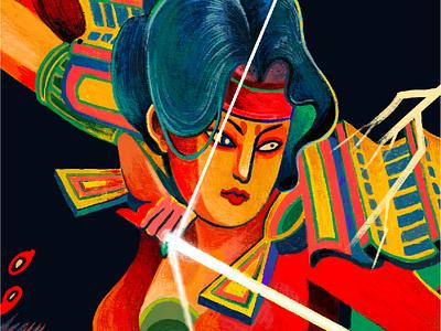 V a i r a g y a  / Thù hận.  -  Excerpts by DusseB nguoidoitapbay illustrator illustration dusseb fineart art lover vairagya