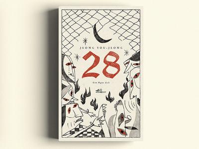 JEONG YOU -JEONG / 28 (book cover) illustration nguoidoitapbay buitam design drawing cover bookcover disaster art 28 dog animal
