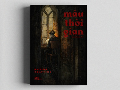 LE SANG DU TEMPS / Maxime Chattam book illustration nguoidoitapbay buitam design drawing cover bookcover love maximechattam