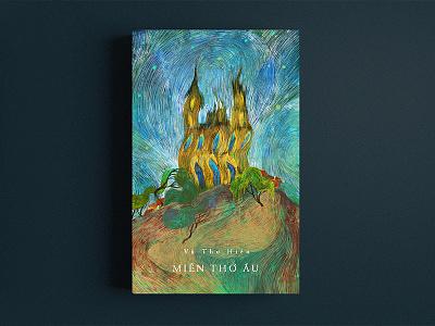Mien Tho Au (Childhood land) Art work illustration nguoidoitapbay buitam design drawing bookcover love old memory land childhood