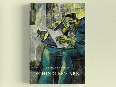 THOMAS KENEALLY /  Schindler's Ark book illustration nguoidoitapbay buitam design drawing cover bookcover love keneally ark shindlers