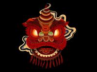 Đầu lân - The Lion Dance Head