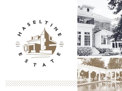 Haseltine Estate Logo + Brand Identity