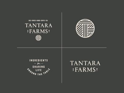Tantara Farms Logo Lockups