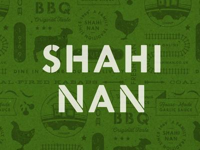 Indian BBQ - London logo pattern design branding restaurant indian