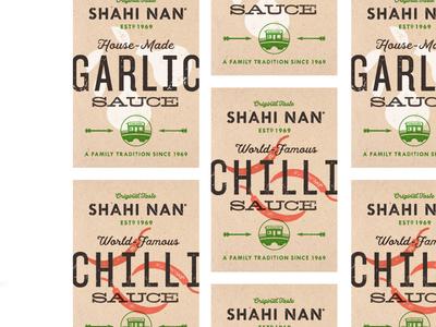 Sauce Bottle Label restaurant design london chili design packaging sauce