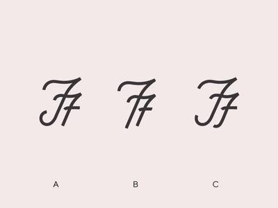 FF Mark - A, B, or C? farm f mark brand ff