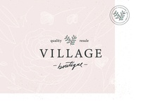 Village Boutique Rebrand