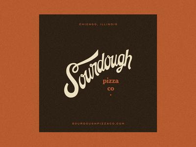 Sourdough logo design restaurants identity restaurant branding restaurant pizza wordmark 70s script