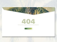 Welcome to the Jungle - 404 Page