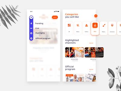 Kingsday 2020   Mobile design google festive royals dutch government dutch streaming video webdesign ux ui incentro king orange netherlands koningsdag kingsday