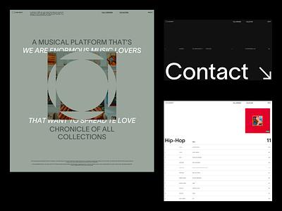 Cabinet green kanye list about contact grid vinyl lp music collection cabinet shapes logo design exploration layout minimal webdesign ux ui