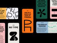 No Type web designer type logo ui web design website art direction graphic design colour typography branding