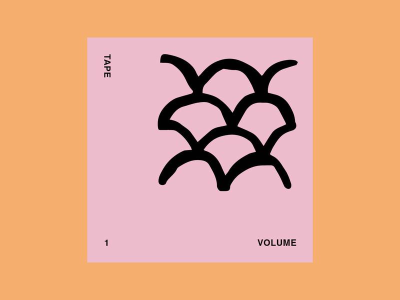Tape Vol.1 musician art cover art music design illustration graphic art direction graphic design colour typography branding