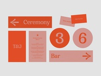 Talula & Jake wedding invite wedding card wedding stationery type editorial wedding print direction art design graphic art direction graphic design colour typography branding