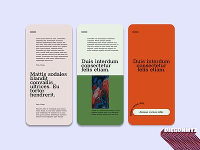 Museum UI mobile dailyui figmadesign museum of art museum figma