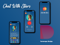 Chat With Stars App Prototype
