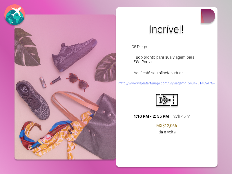 Daily UI Challenge 017 Email receipt email email receipt animation daily ui challenge daily ui daily challange figma design