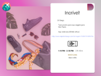 Daily UI Challenge 017 Email receipt