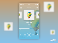 Daily UI Challenge Day #9 - Music Player
