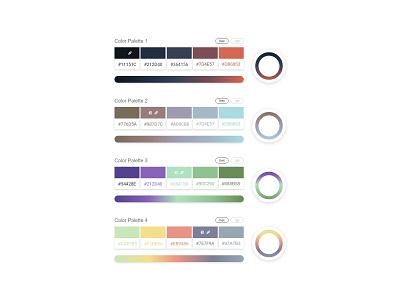 Daily UI Challenge Day #60 - Color Picker design web design clean gradient icon ux ui dailyui