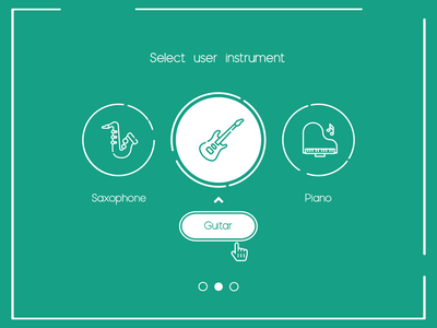 Daily UI Challenge Day #64 - User Type vector illustration design clean icon ux ui dailyui