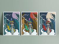 Dokebi Hunter Mini Prints