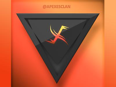 Apexes Clan™ Logo officialthegamer official creative russell clan logo gaming the taken king ttk call of duty destiny apexes clan apexes