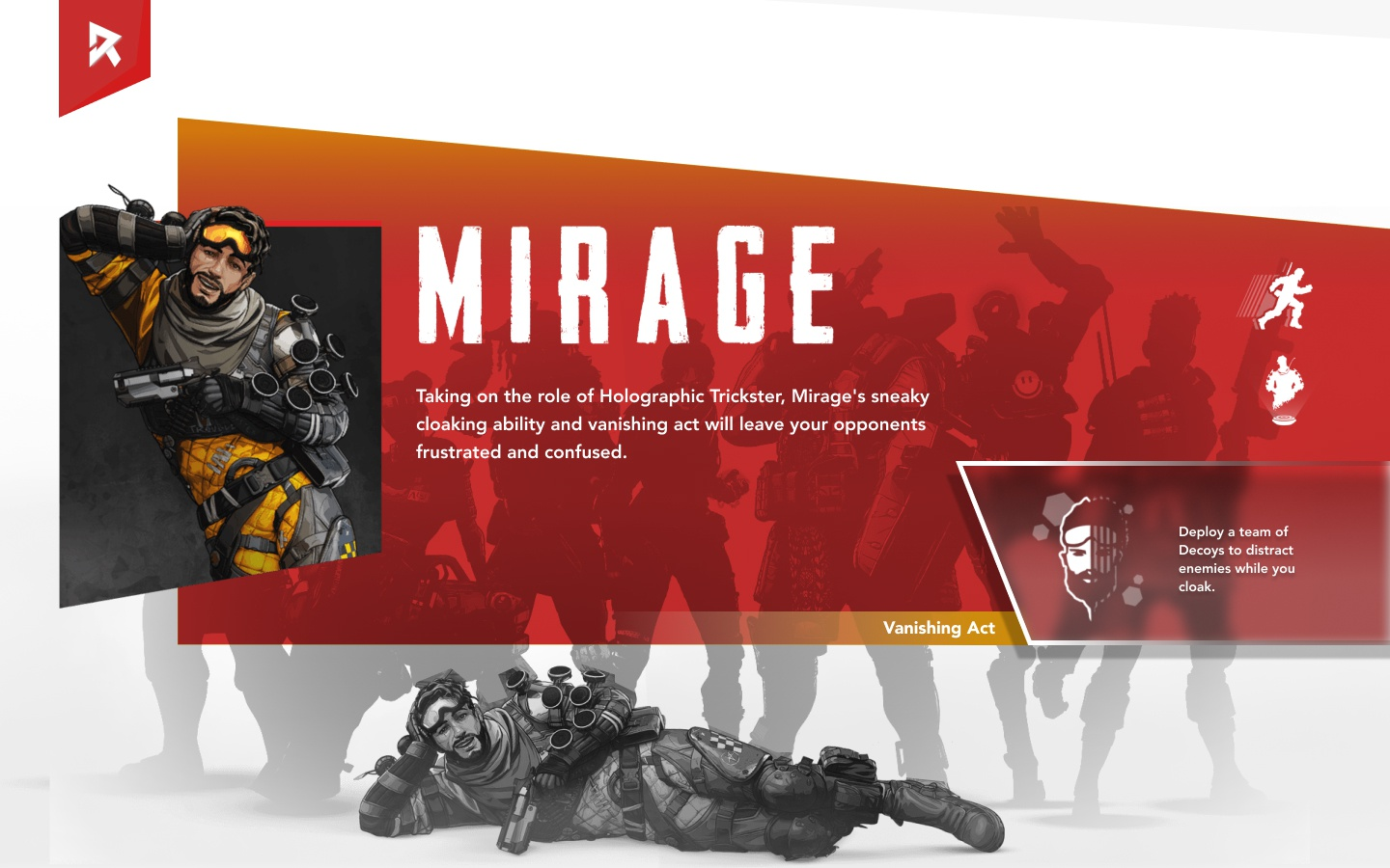 Apex legends ui mirage
