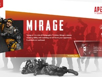 Apex legends mirageui