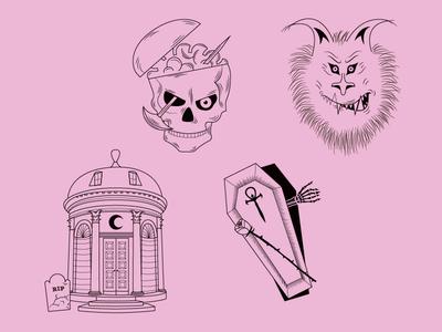 Lore Illustrations