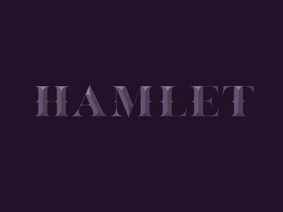 Hamlet Lettering